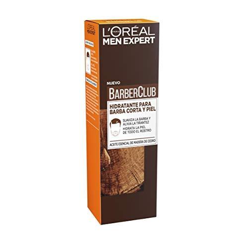 L'Oréal Paris Men Expert - Barber Club gel hidratante para barba corta y piel - 50 ml