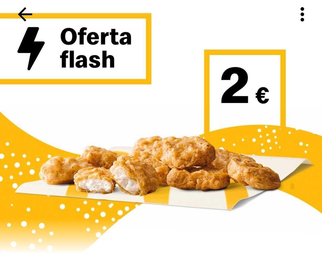 9 mcnuggets por 2€