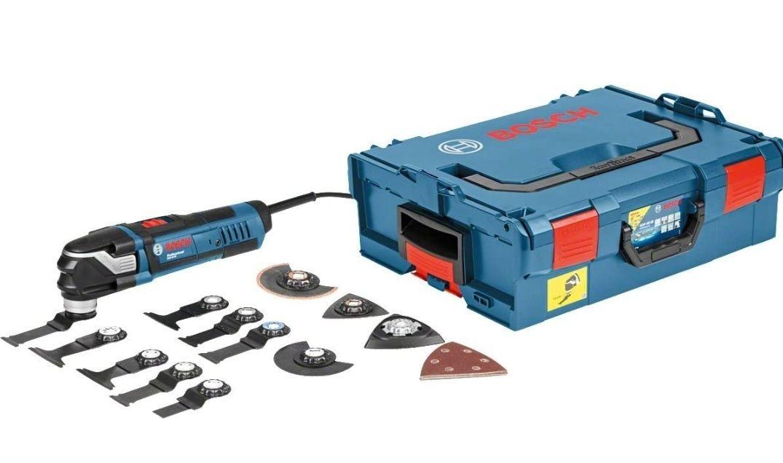 Bosch Professional GOP 40-30 - Multiherramienta (400W, Starlock, 16 accesorios, en L-BOXX)