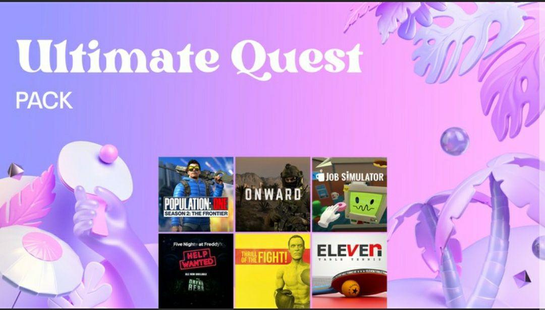 Ultimate Quest Pack de 6 juegos | Oculus Quest