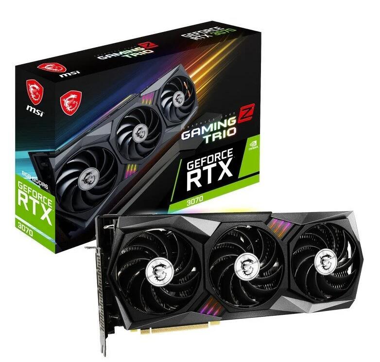 MSI GeForce RTX 3070 GAMING Z TRIO 8GB GDDR6