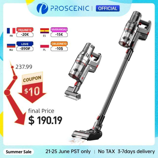 Proscenic P11 Aspiradora Sin Cable