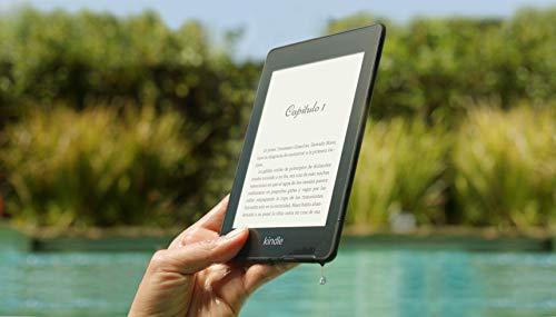 """Prime: Kindle Paperwhite - Resistente al agua, pantalla de alta resolución de 6"""", 8 GB, con publicidad"""