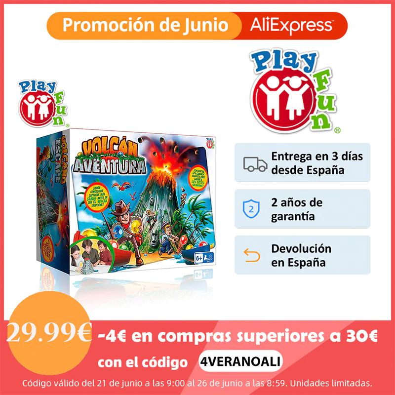 IMC Toys - Play Fun, Volcán Aventura