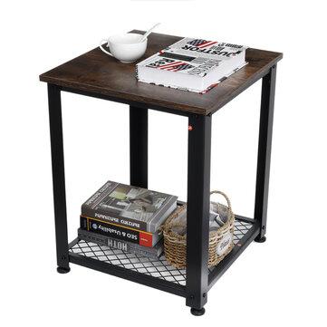Mesa auxiliar metal + madera [Desde Europa]