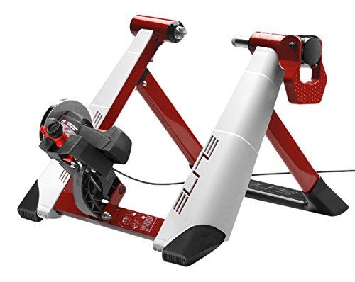 Rodillo magnético de ciclismo (sistema de fijación rápida, máxima estabilidad) y 8 niveles de resistencia