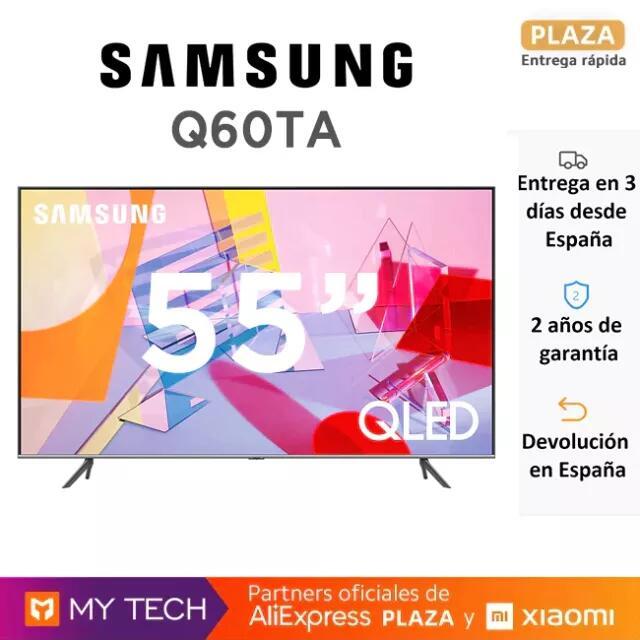 "TV QLED Samsung 55"" Q60TA por 544€"