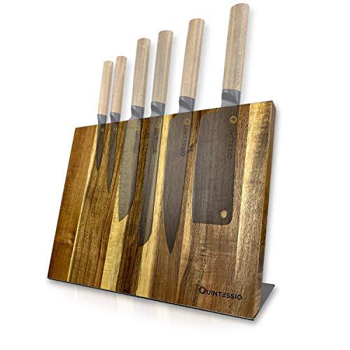 Portacuchillos Magnético de Madera XL [Sin cuchillos]