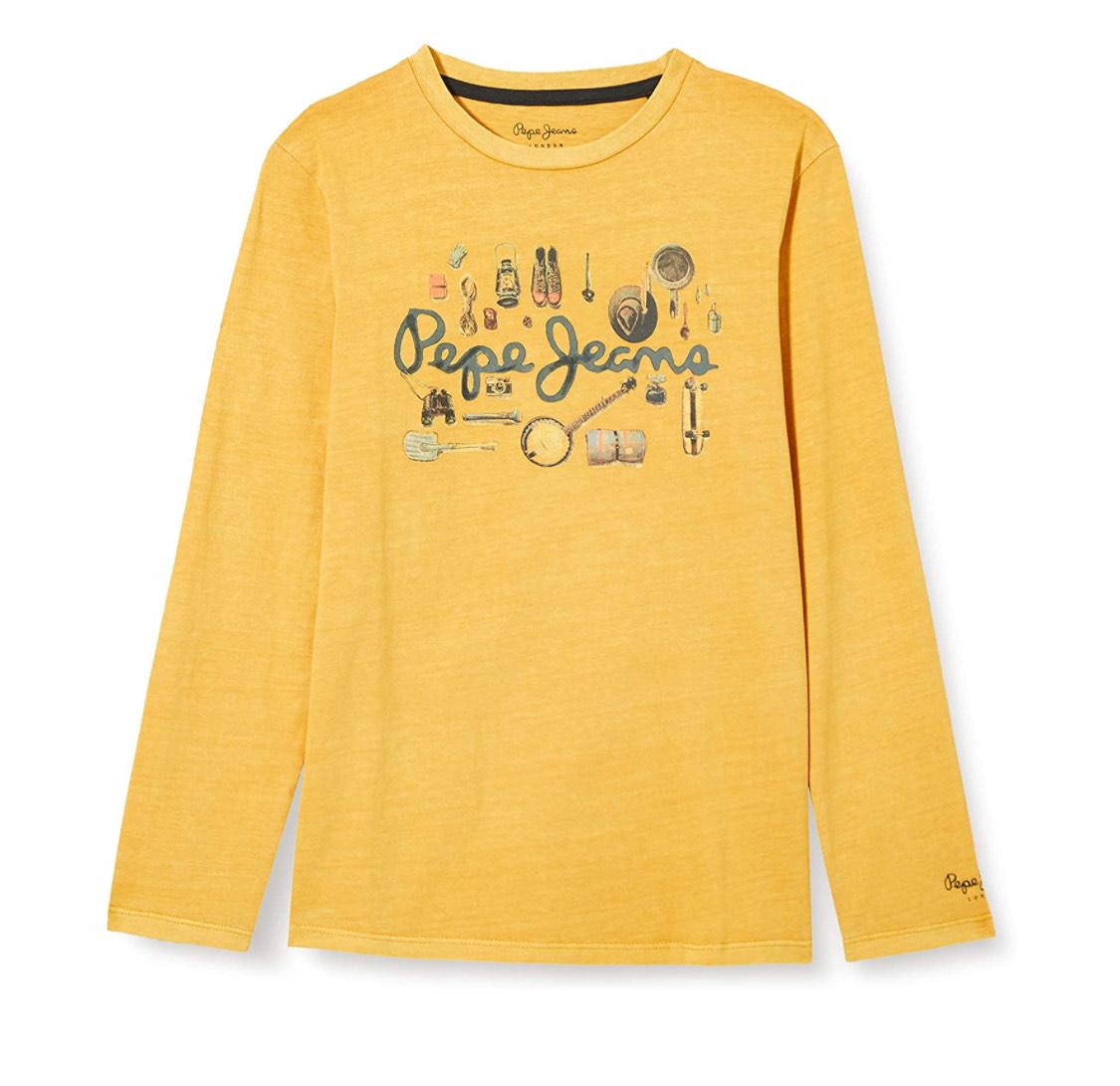 Camiseta infantil Pepe Jeans manga larga talla 6.