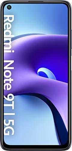 "Xiaomi Redmi Note 9T 5G (Smartphone 4GB+128GB, FHD+ de 6.53"" DotDisplay, Cámara triple 48 MP, Dual Speakers, 5000mAh,Carga rápida), Negro"