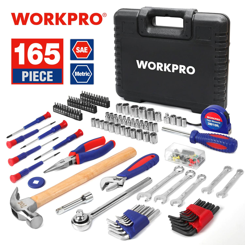 Juego de herramientas WORKPRO 100 piezas