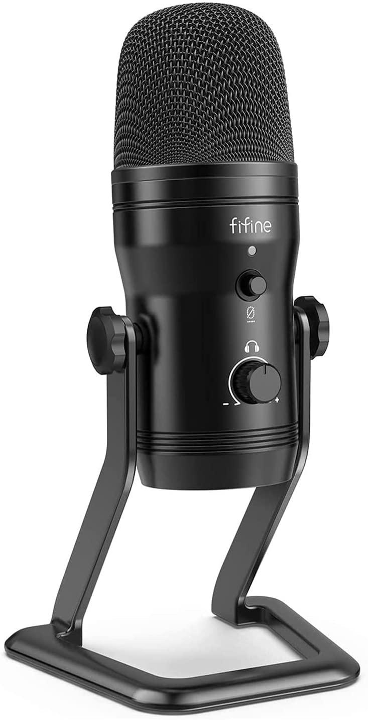 FIFINE Micrófono de grabación USB (desde España)