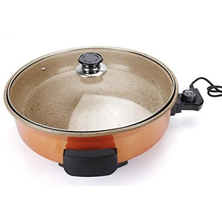 Grill eléctrico de 40cm con Recubrimiento