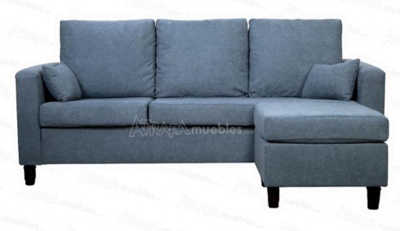 Chaiselongue Pims Reversible (Mostaza y Azul)