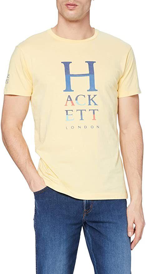 Hackett London Hackett Col Letters Camiseta talla XS