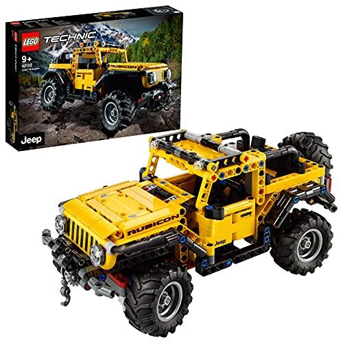 LEGO 42122 Technic Jeep Wrangler, Coche 4x4 de Juguete