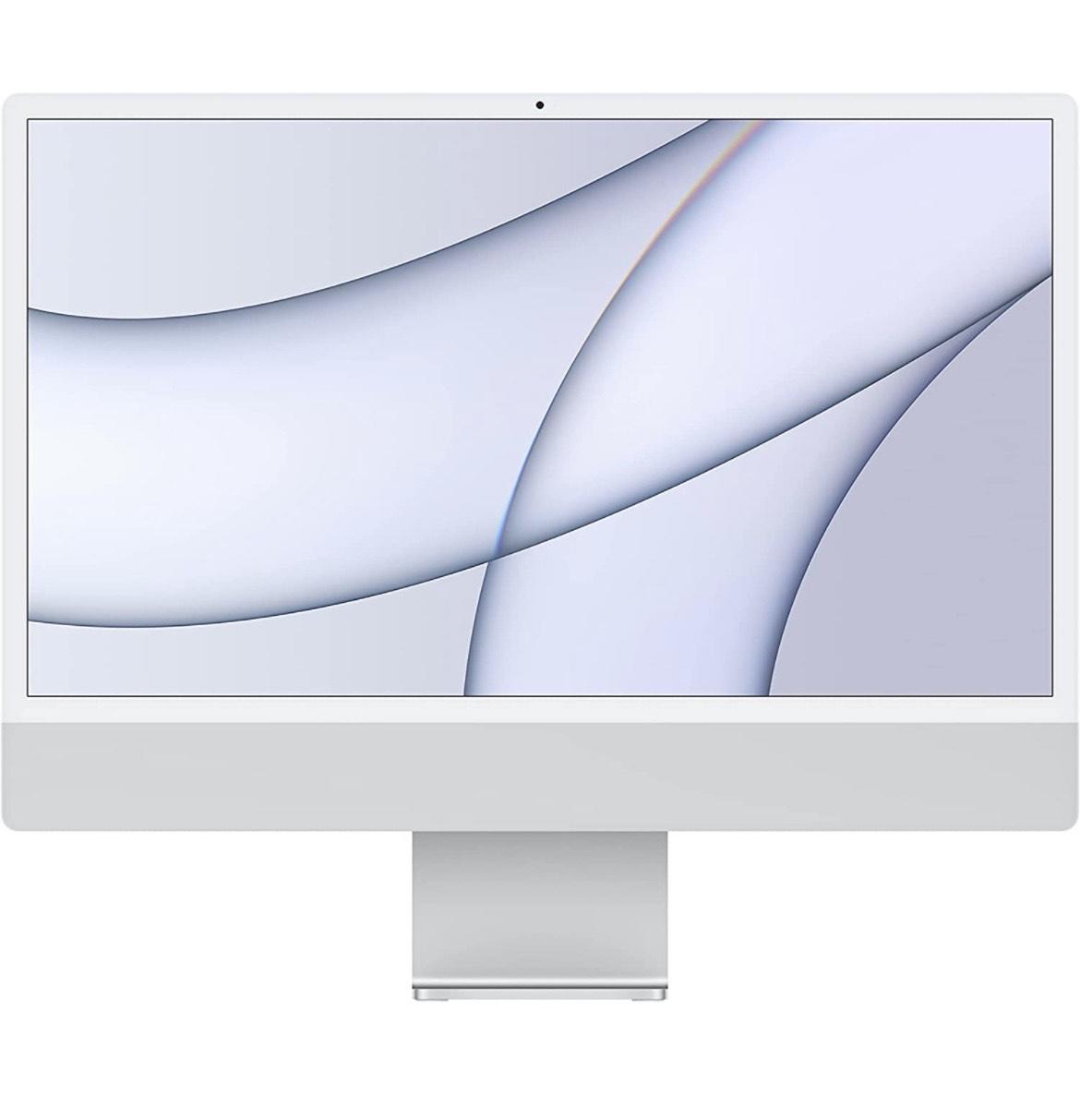 2021 Apple iMac M1 (de24Pulgadas, 8GB RAM, 256 GB) - Plata