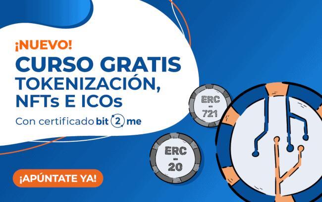 Cursos gratuitos sobre Bitcoin, criptomonedas y tokenización en Bit2Me Academy (con certificado)