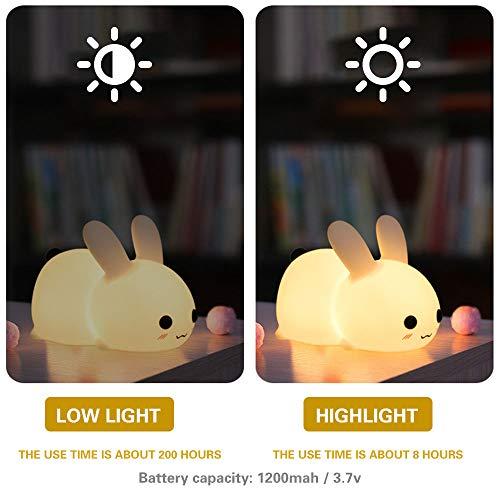 Lámpara de noche con interruptor táctil. Por 15,99€