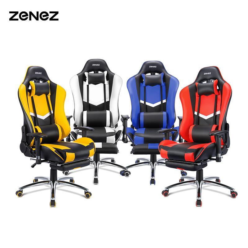 Silla Gaming Zenez con reposapiés [Desde España][Nuevo Modelo 2021]