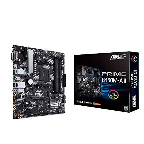 Placa Base Micro-ATX AMD -Asus Prime B450M-A II