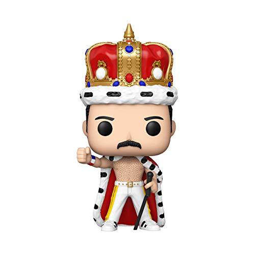 Funko - Pop Rocks: Freddie Mercury King Figura Coleccionable