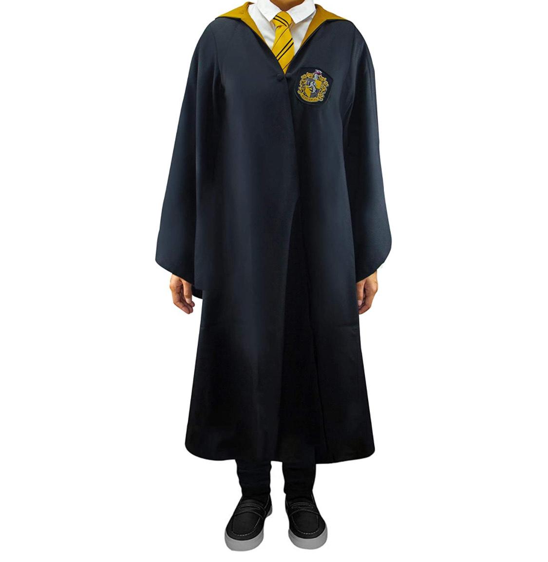 Capa oficial Harry Potter Hufflepuff talla M adulto (excelente calidad)