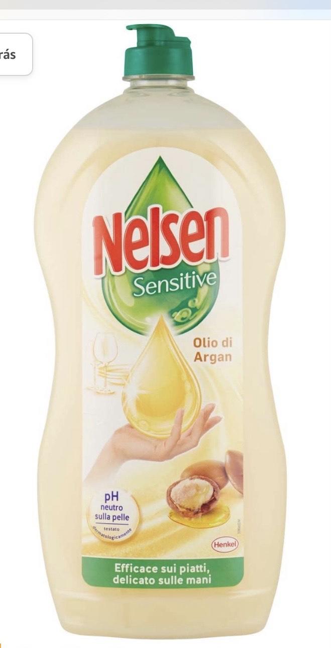 Nelsen Nelsen - Aceite de argán, detergente para platos a mano,900 ml