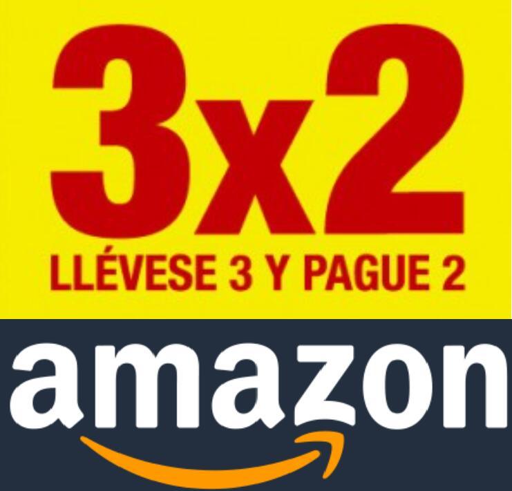 3x2 en Seleccionados en Amazon