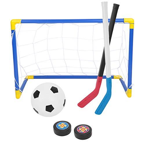 Portería y sticks hockey/fútbol