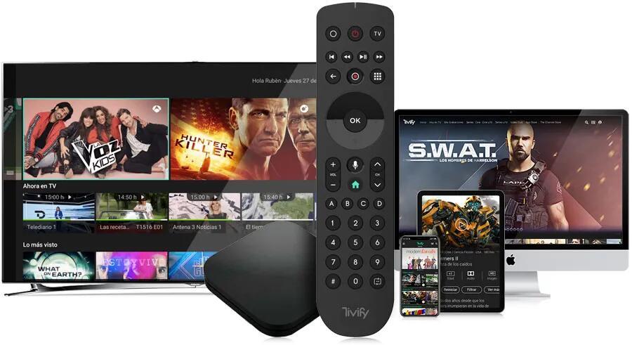 1 mes gratis de Tivify (canales TDT + últimos 7 días, grabación, reinicio y control por voz)