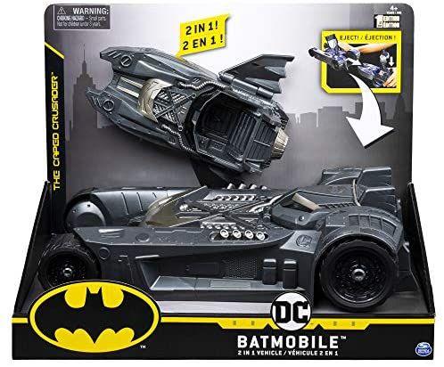 Bizak Batman DC Comics Batmovil 2 Vehículos en 1 para Figuras de 10 cm