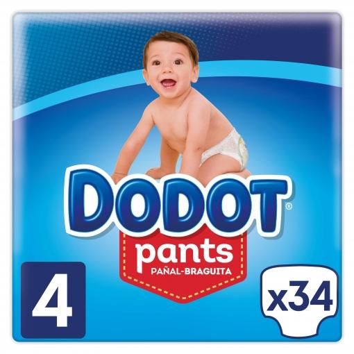 Dodot Pants Talla 4(((324 pañales)))