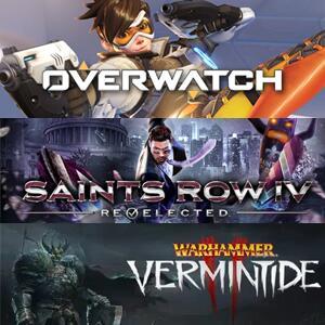 Juega GRATIS Overwatch Origins Edition, Saints Row IV: Re-Elected, Warhammer: Vermintide 2 #XBOX