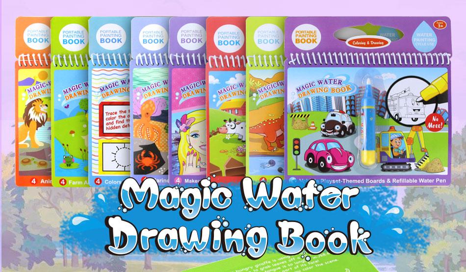 Libro Agua Mágico