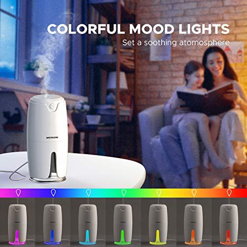 Mini humidificador 360ml RGB