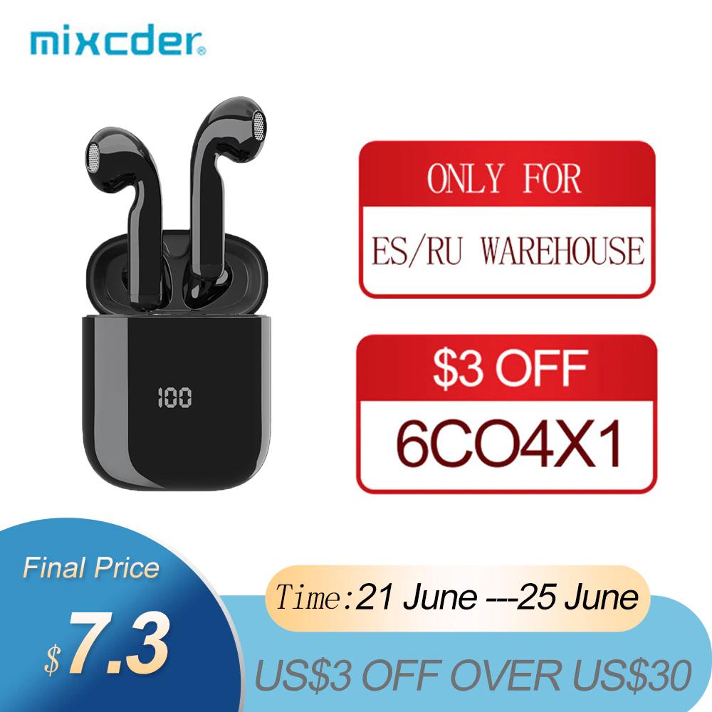 Mixcder X1-auriculares TWS, inalámbricos por Bluetooth con 4 micrófonos BT5.1
