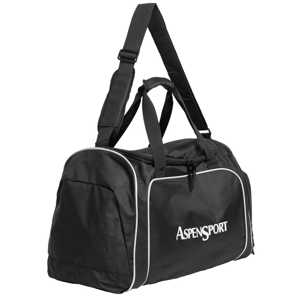 AspenSport Travel Bag Bolsa de viaje negra alto 26 x ancho 48 x fondo 24 en cm