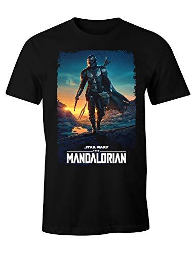 Camiseta de hombre The Mandalorian XL 100% Algodón