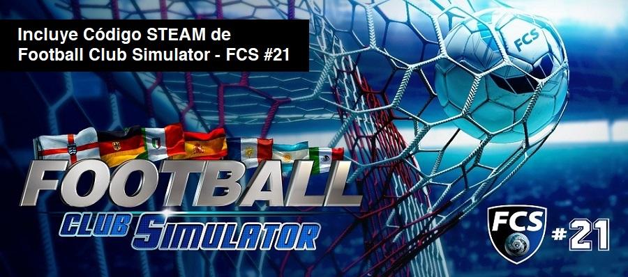 Football Club Simulator - FCS #21 para PC (incluye clave para Steam)