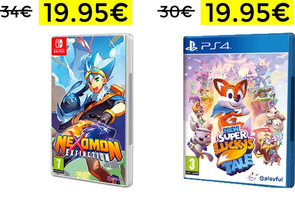 Ofertas de varios títulos Nintendo Switch y Playstation 4