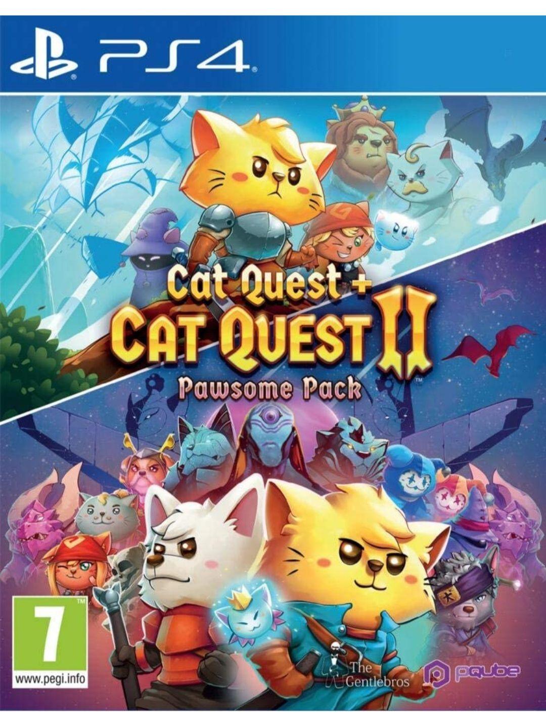 Cat Quest + Cat Quest 2 (PS4)