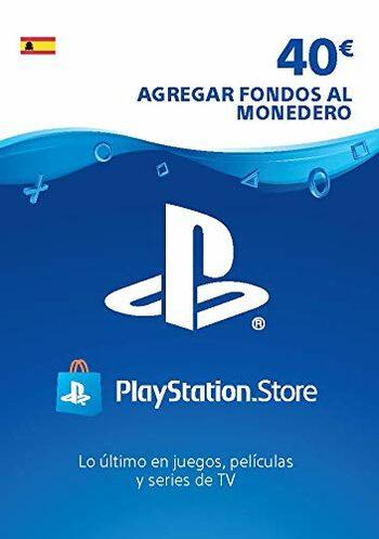 Tarjeta 40€ de saldo para la Playstation Store
