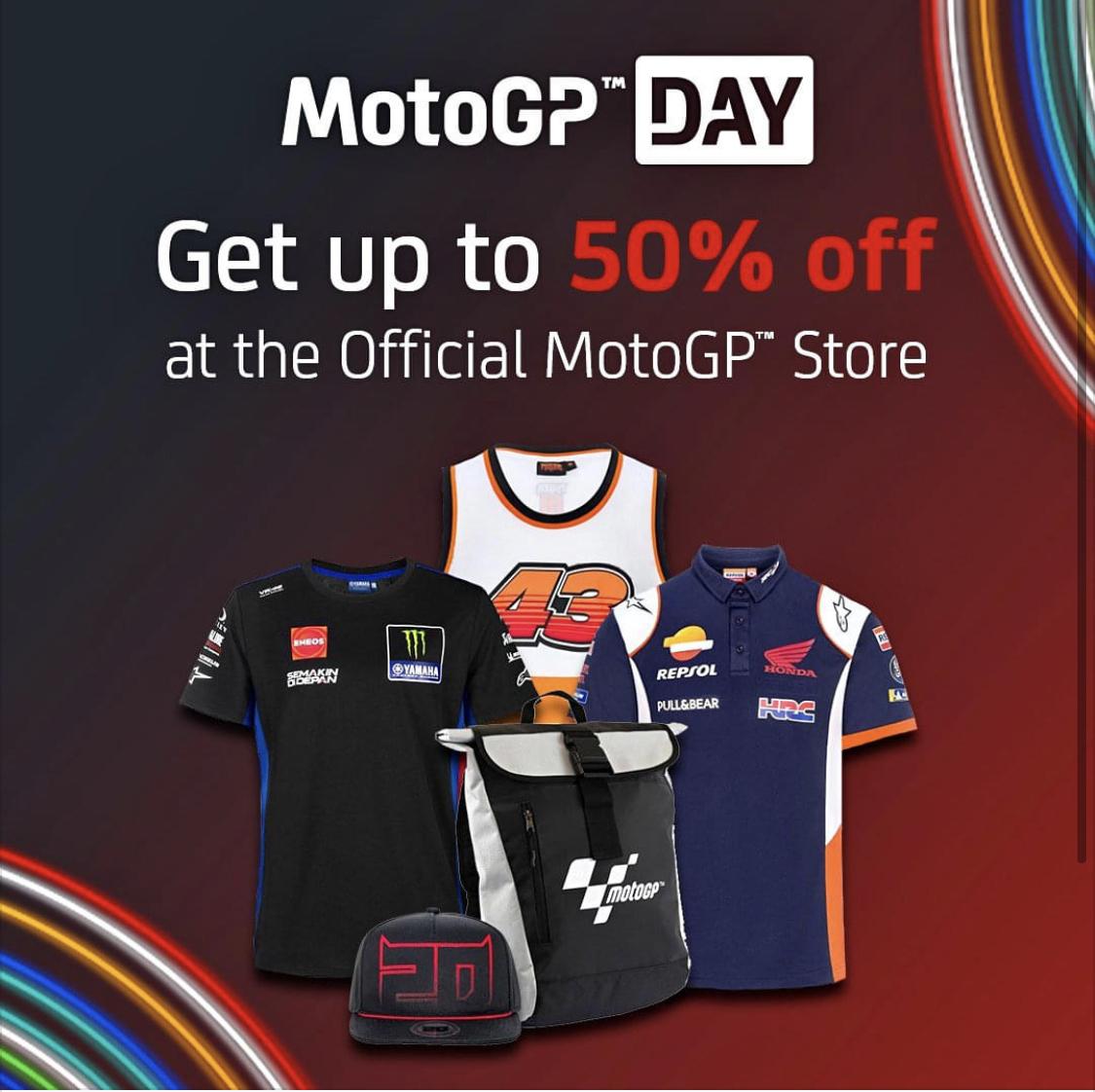 MotoGP Days | Hasta -50% en más de 600 artículos oficiales