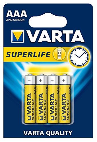 Pilas Varta AAA superlife