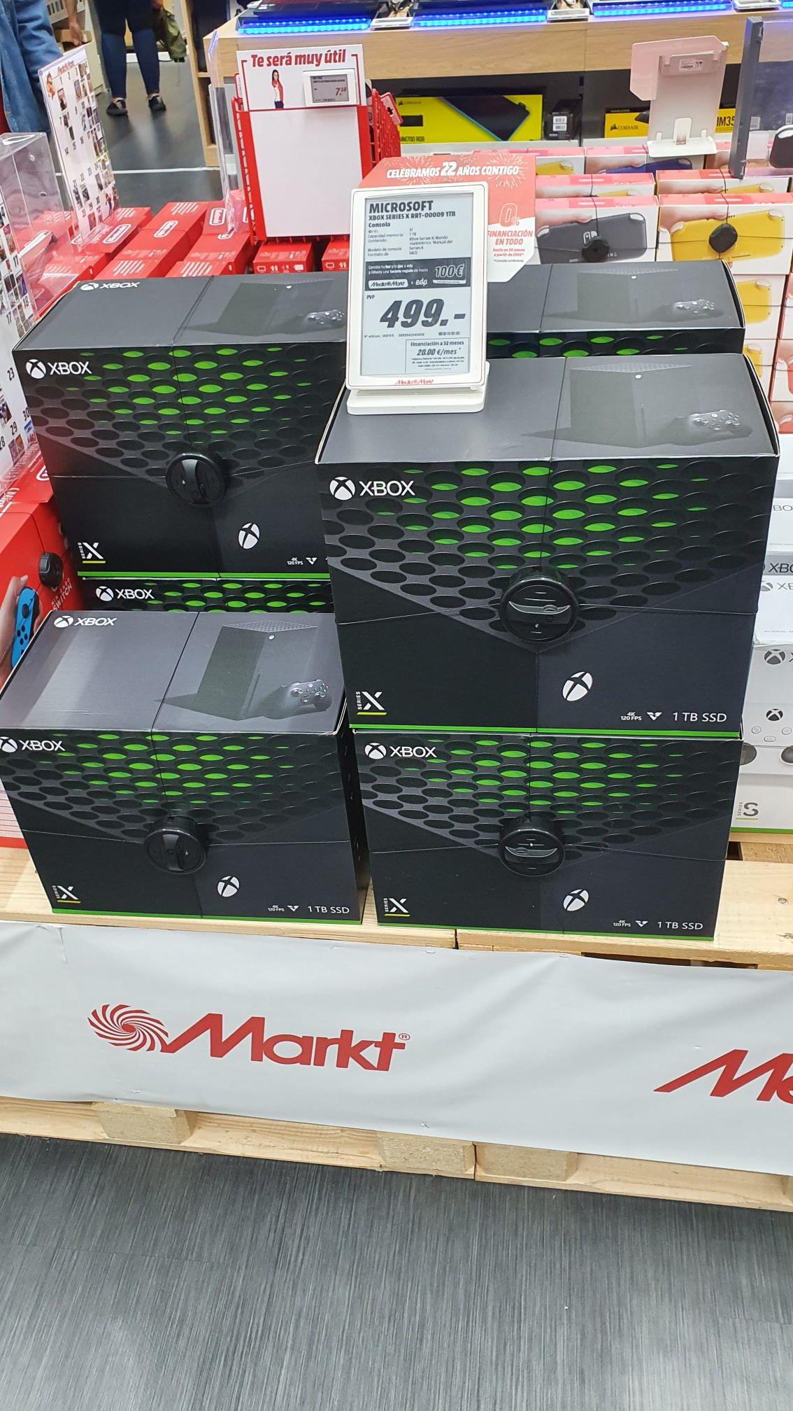 Xbox Series X en Media Markt Barakaldo