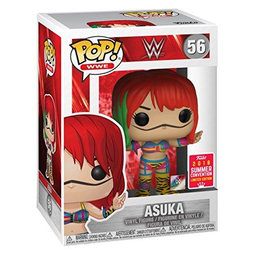 Funko WWE S8 - Asuka (Summer Convention 2018) EXCLUSIVE (Temporalmente sin stock)