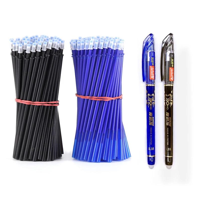 Bolígrafos borrables de dos colores