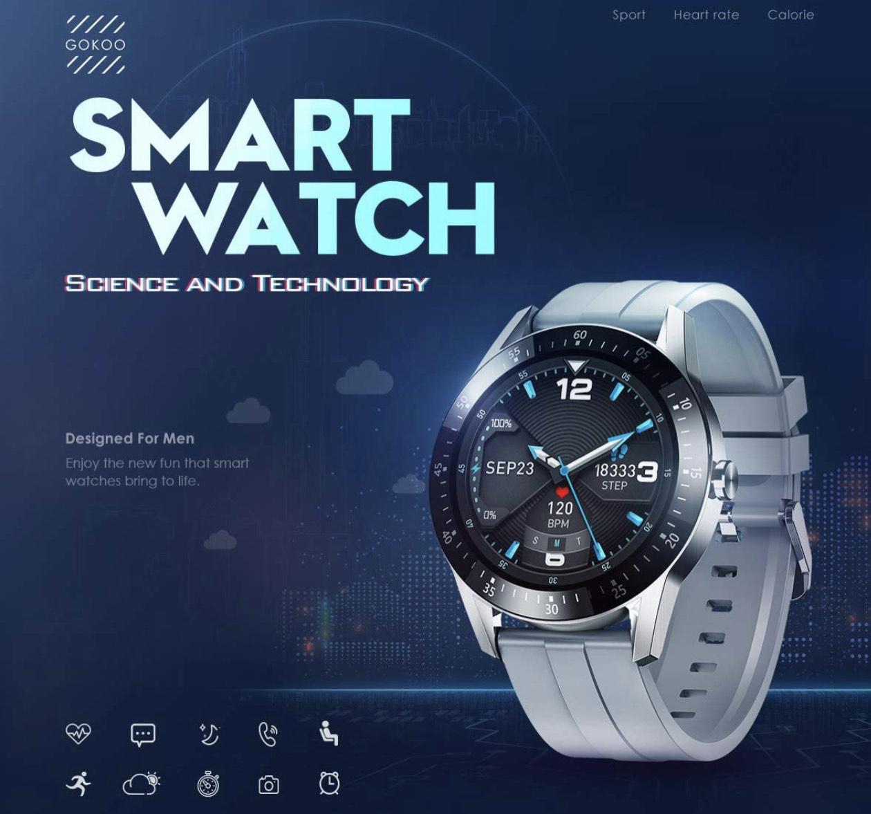 GOKOO - Reloj Inteligente Smartwatch