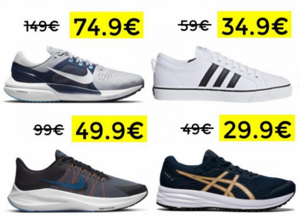 Hasta 50% en moda y calzado deportivo